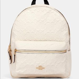 Coach medium size Charlie backpack Leather